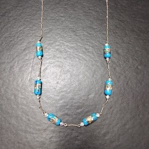Jewelry - *Sale*  Blue beaded necklace